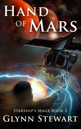 Hand of Mars Cover (Starship's Mage Book 2)